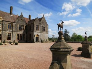 Walking into Huntsham Court is like a breath of fresh air, and that's not just because it's surrounded by acres of land.