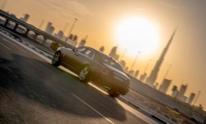 "I arrived at the Jumeirah Emirates Towers in Dubai to drive the Rolls-Royce Ghost Series II where I was passed the key, and it was time to ""haunt"" the streets."