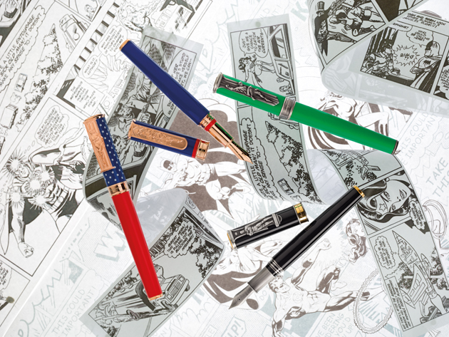Montegrappa introduce the DC Comics Heroes & Villains Pen Collection