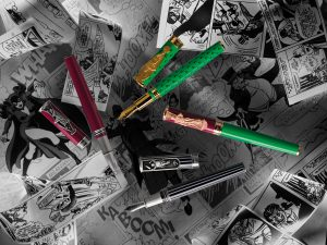 The DC Comics Villains Pens