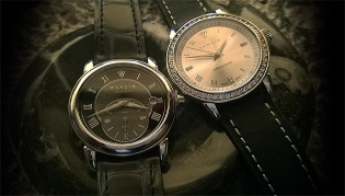 Wencia, Swiss-made classically styled sterling silver watches