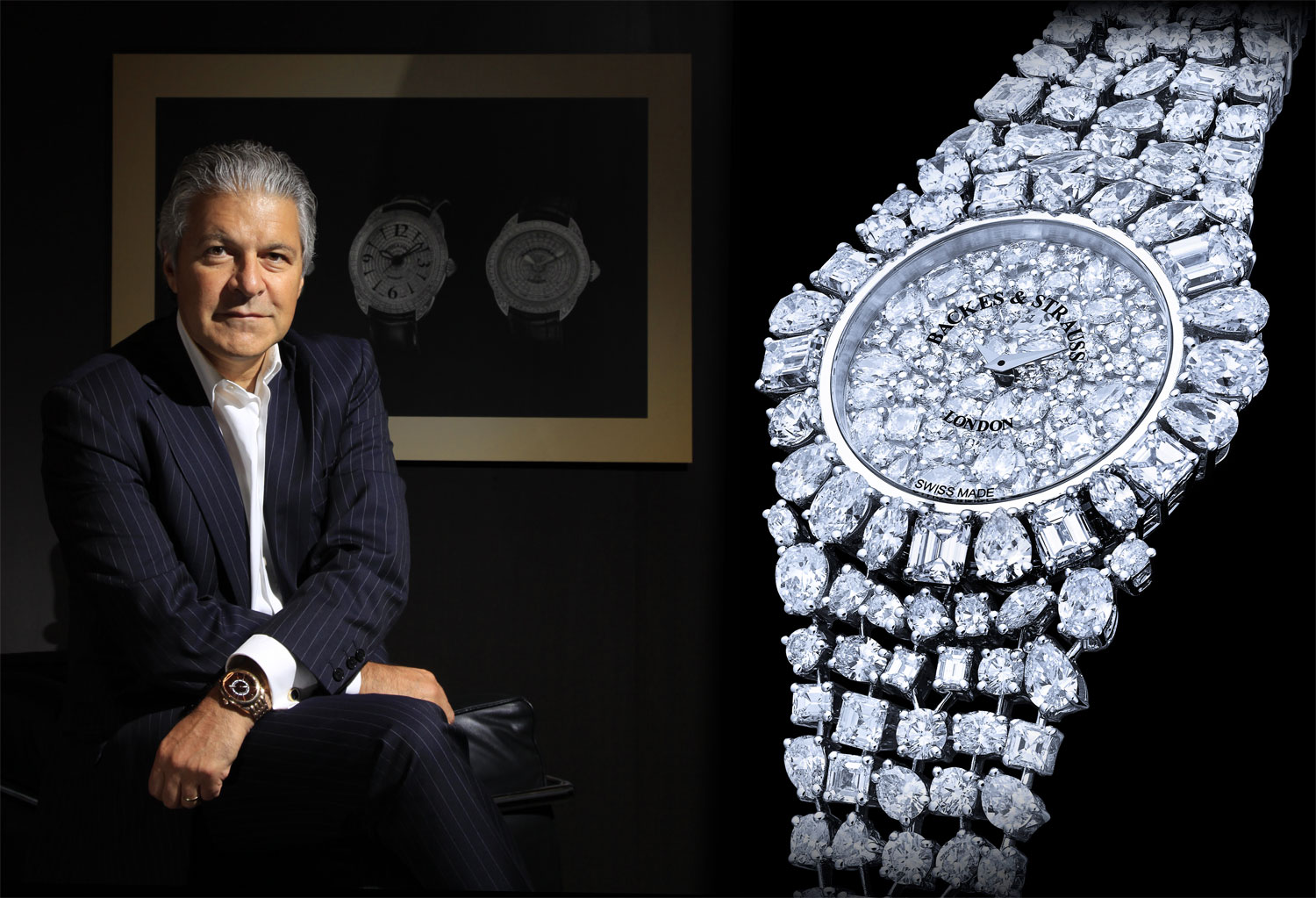 Backes & Strauss sparkle at the World Presentation of Haute Horlogerie 2015