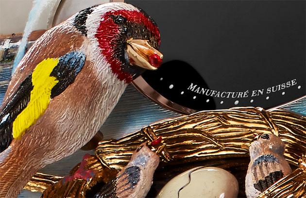 Jaquet Droz presents The Bird Repeater Geneva
