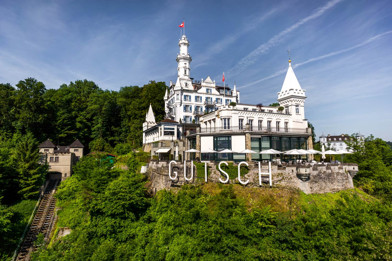 Royal Treatment At Lucerne's Château Gütsch