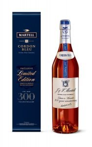"""The House of Martell has today announced the launch of a limited edition bottle and blend, Cordon Bleu """"A Tribute to Martell's 300's year anniversary""""."""