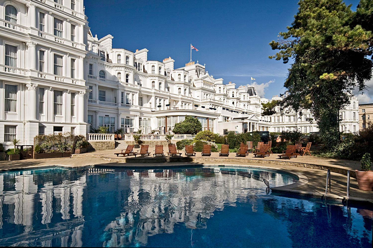 Coastal Comforts At The Grand Hotel Eastbourne