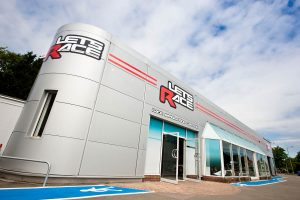 When you arrive at Lets Race F1 Simulator, there is a feeling of excitement as you approach the building.
