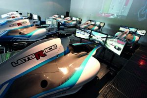 Lets Race full motion F1 simulator