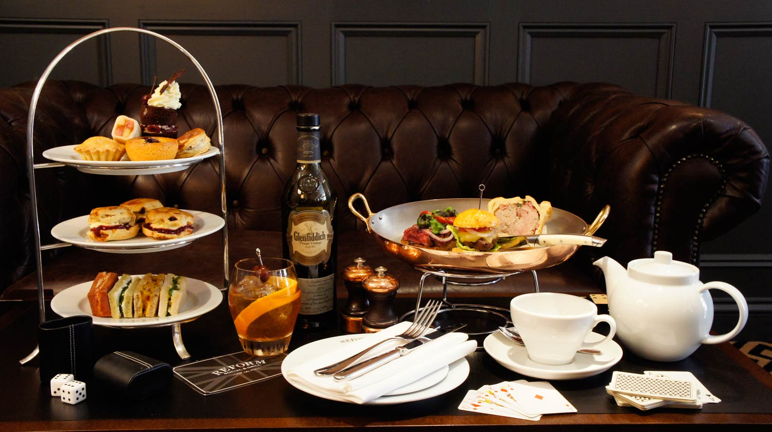 A Gentleman's Afternoon Tea At The Mandeville Hotel