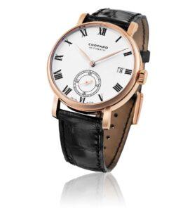 Chopard Classic Manufacture watch in rose gold