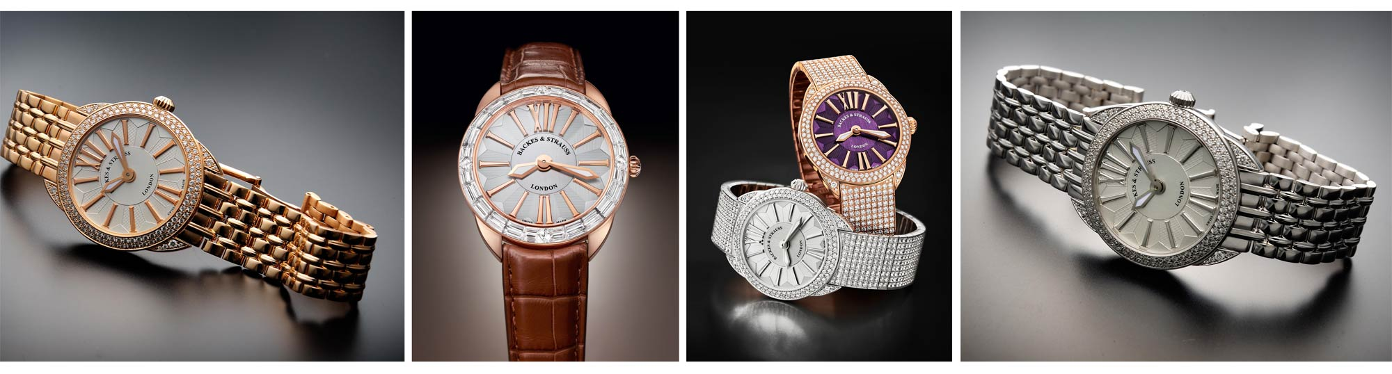 The four new models in the Renaissance collection