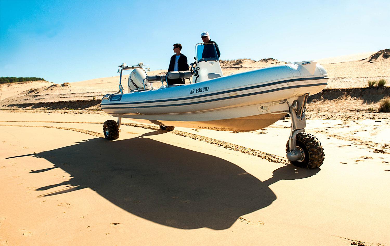 Innovation: Unique Amphibious RIB Comes to the Market in Mallorca