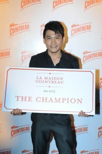 Mike Cheong from the Woobar of W Singapore was crowned the champion
