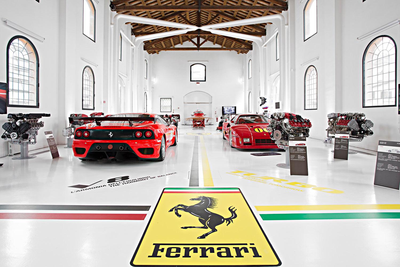 Ferrari and Pavarotti come together at Modena's Enzo Ferrari Museum