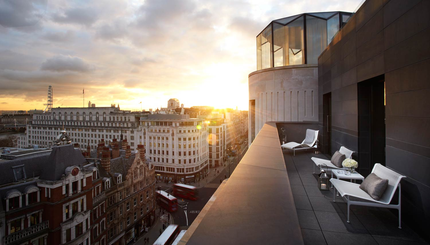 A cut above the rest at me hotel london luxurious magazine for Hotels 02 london