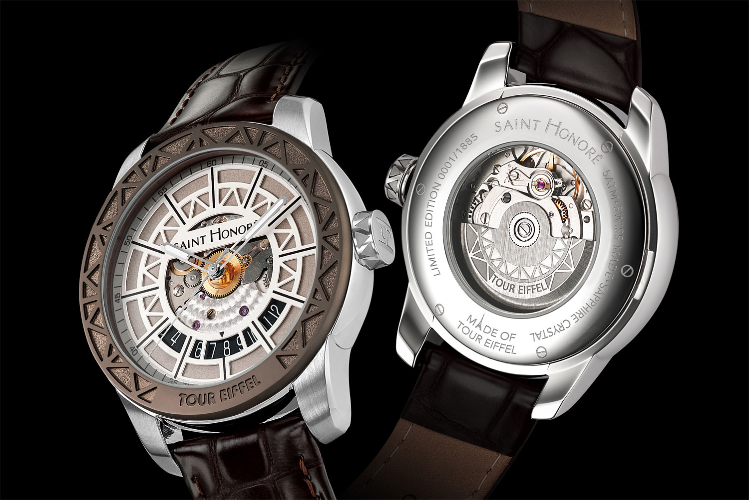 The Saint Honore Tour Eiffel limited edition timepiece