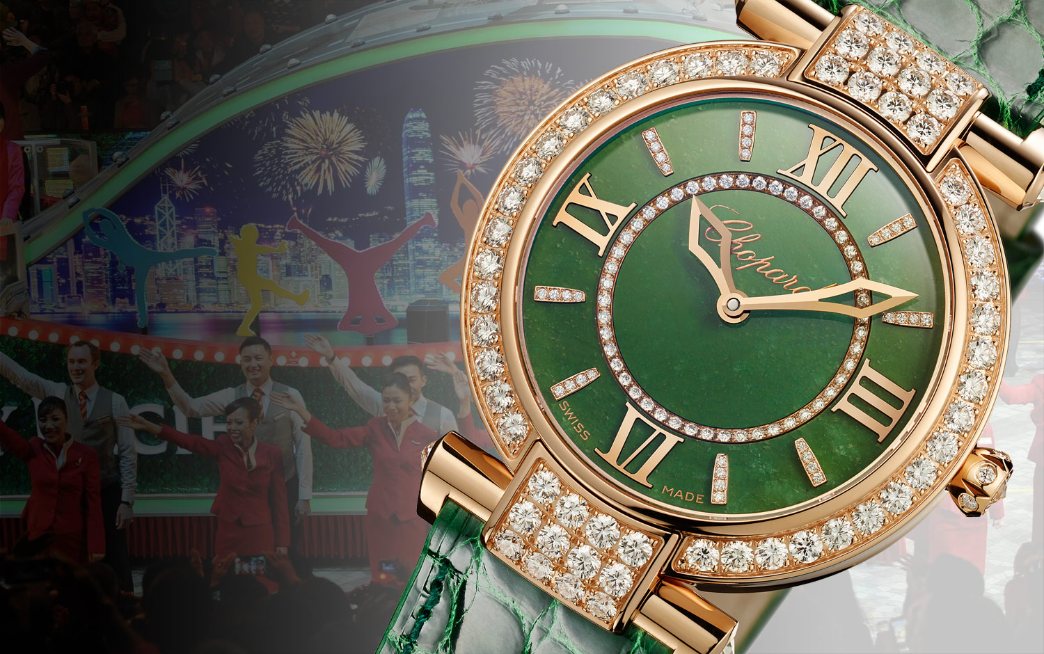The Imperiale 36mm Jade - A new Chopard classic for Chinese New Year