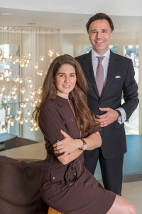 Eva and Oliver Ebstein the owners of Chronoswiss