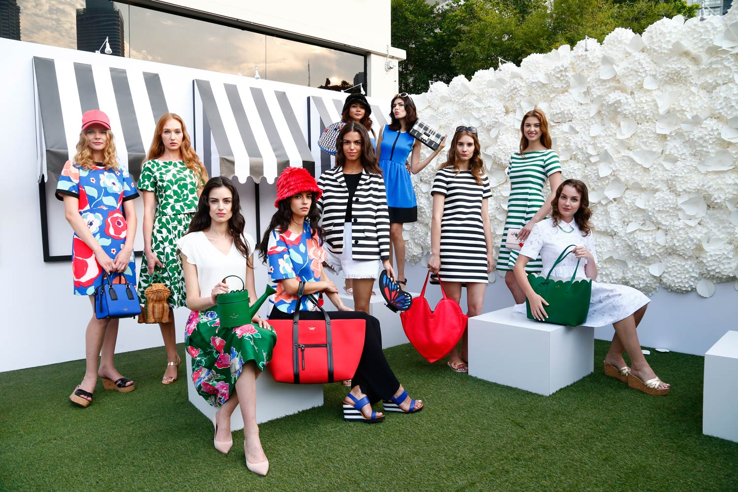 Kate Spade unveil their Spring 2015 collection in Kuala Lumpur, Malaysia