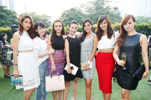 Kate Spade shows their Spring 2015 collection in Kuala Lumpur