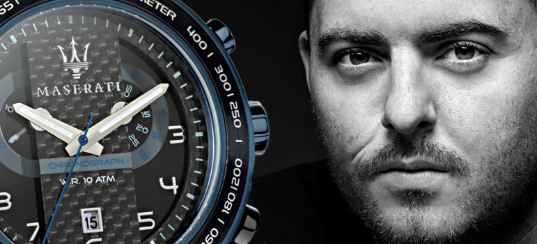 Tom Kennet becomes the official distributor of Maserati Watches in the UK