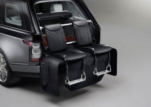 Range Rover's split tailgate event seating