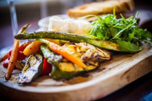 The HUNter 486 vegetable board at The Arch London
