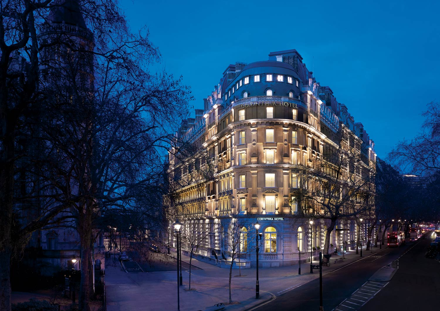 Presidential Treatment At The Corinthia Hotel London