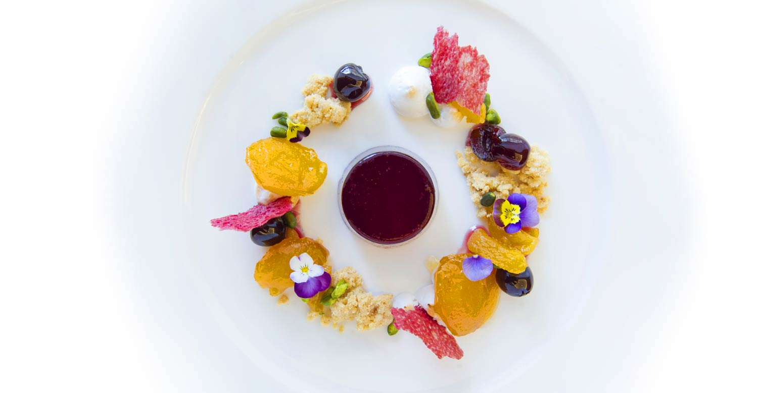 Art on a plate at the Corinthia Hotel London