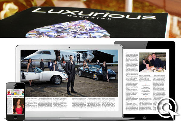 Luxurious Magazine Media Pack and Rate Card
