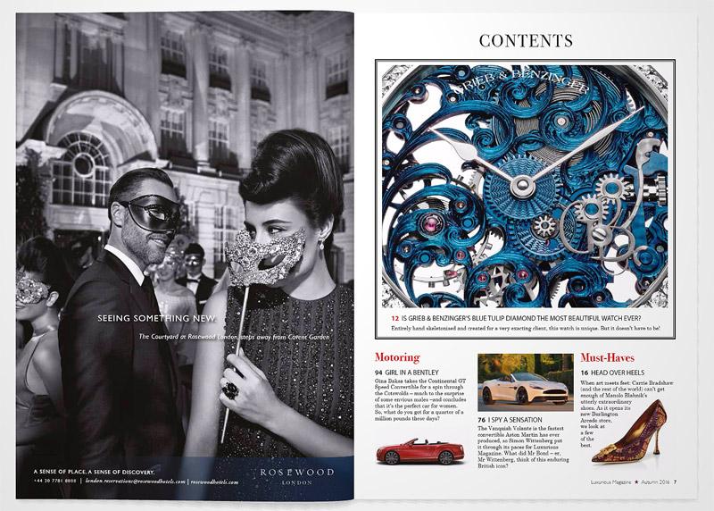 Luxurious Magazine