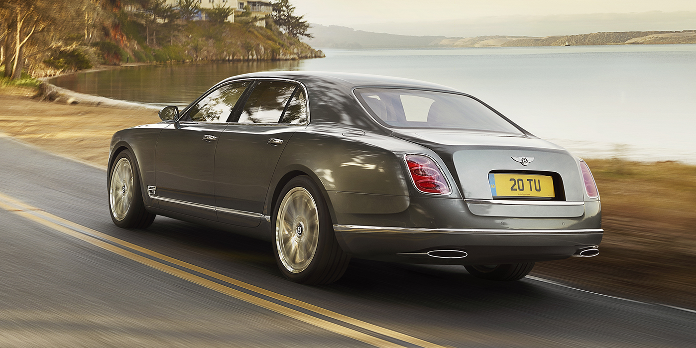 Day Two - The Bentley Mulsanne Speed at Lake Constance