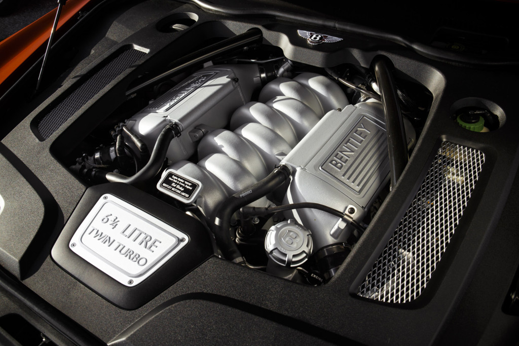 6.75-litre engine that's mostly silent but purrs under acceleration