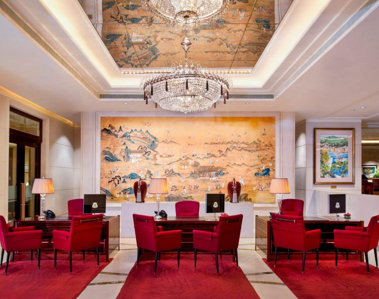 Refinement and Influence resides at the St. Regis Singapore
