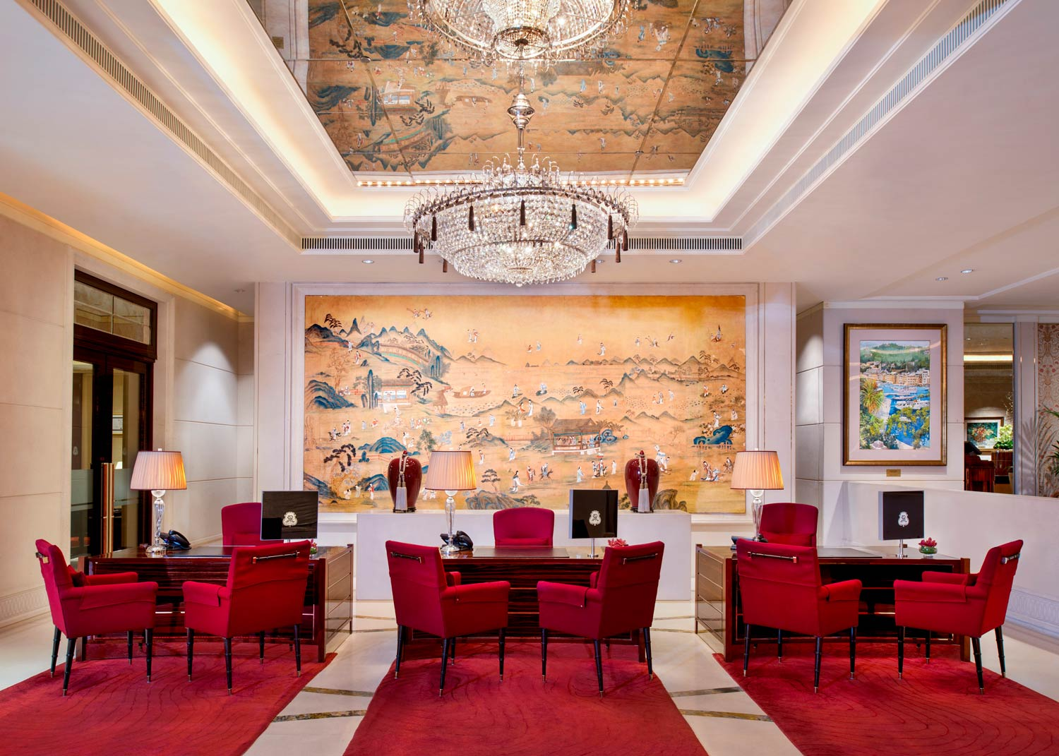 Refinement and influence resides at the st regis hotel for The st regis