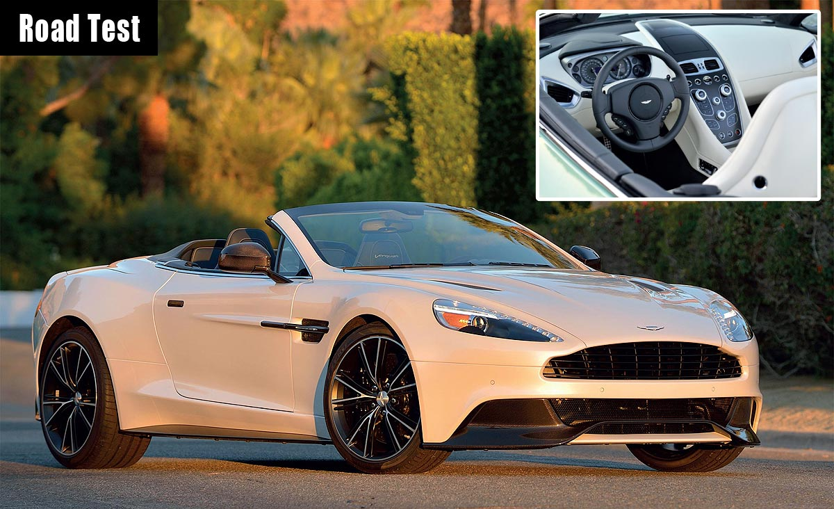 The Aston Martin Vanquish Volante - Preaching To The Converted