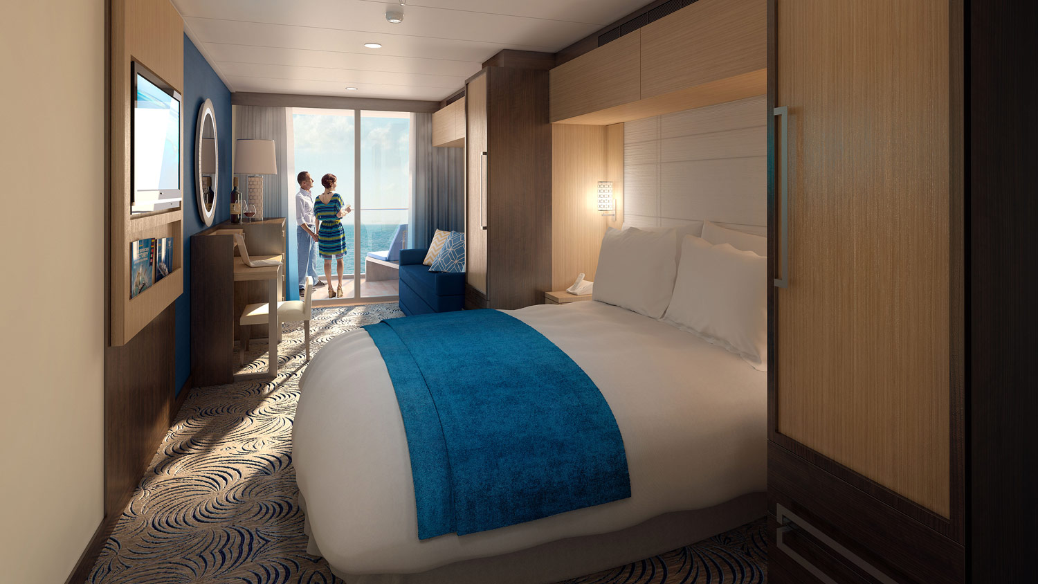 We Join The Royal Caribbean Anthem Of The Seas For Its Inaugural Sailing  Lu