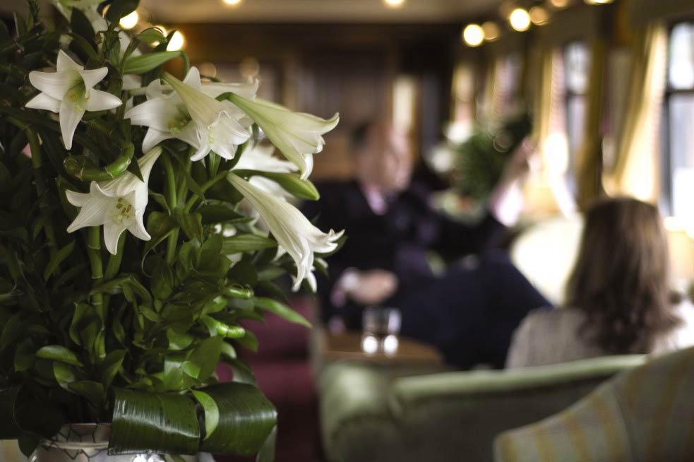 Who knows who you'll be rubbing shoulders with on the Belmond Grand Hibernian