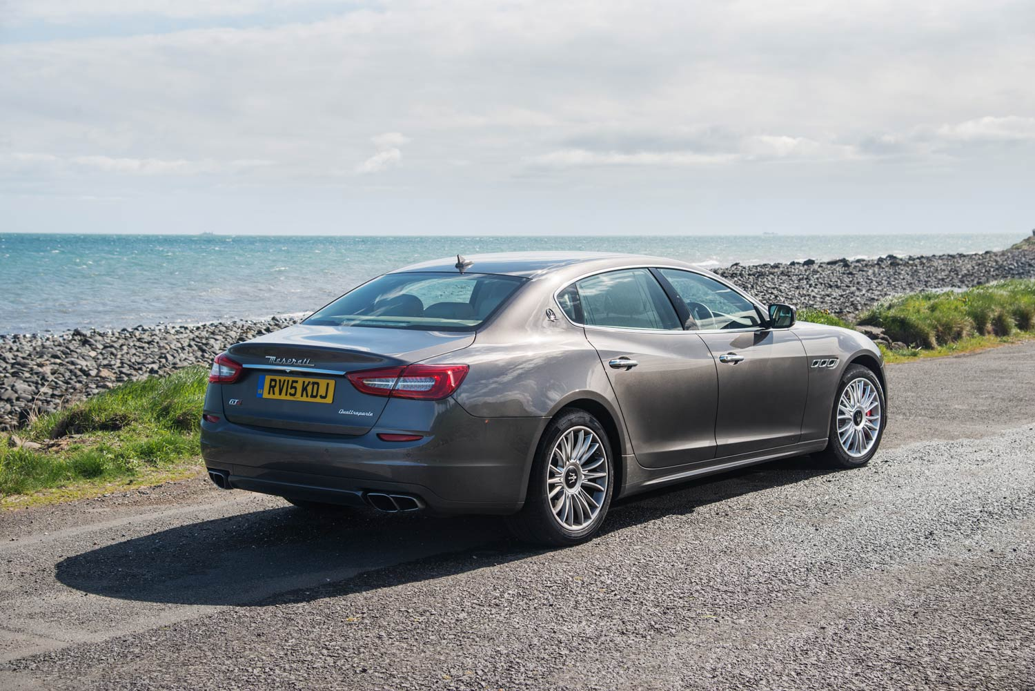 So what's the Maserati Quattroporte GTS like to drive?