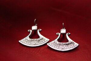 Metallier Jewellery fashion statement designed in a tribal beauty earrings