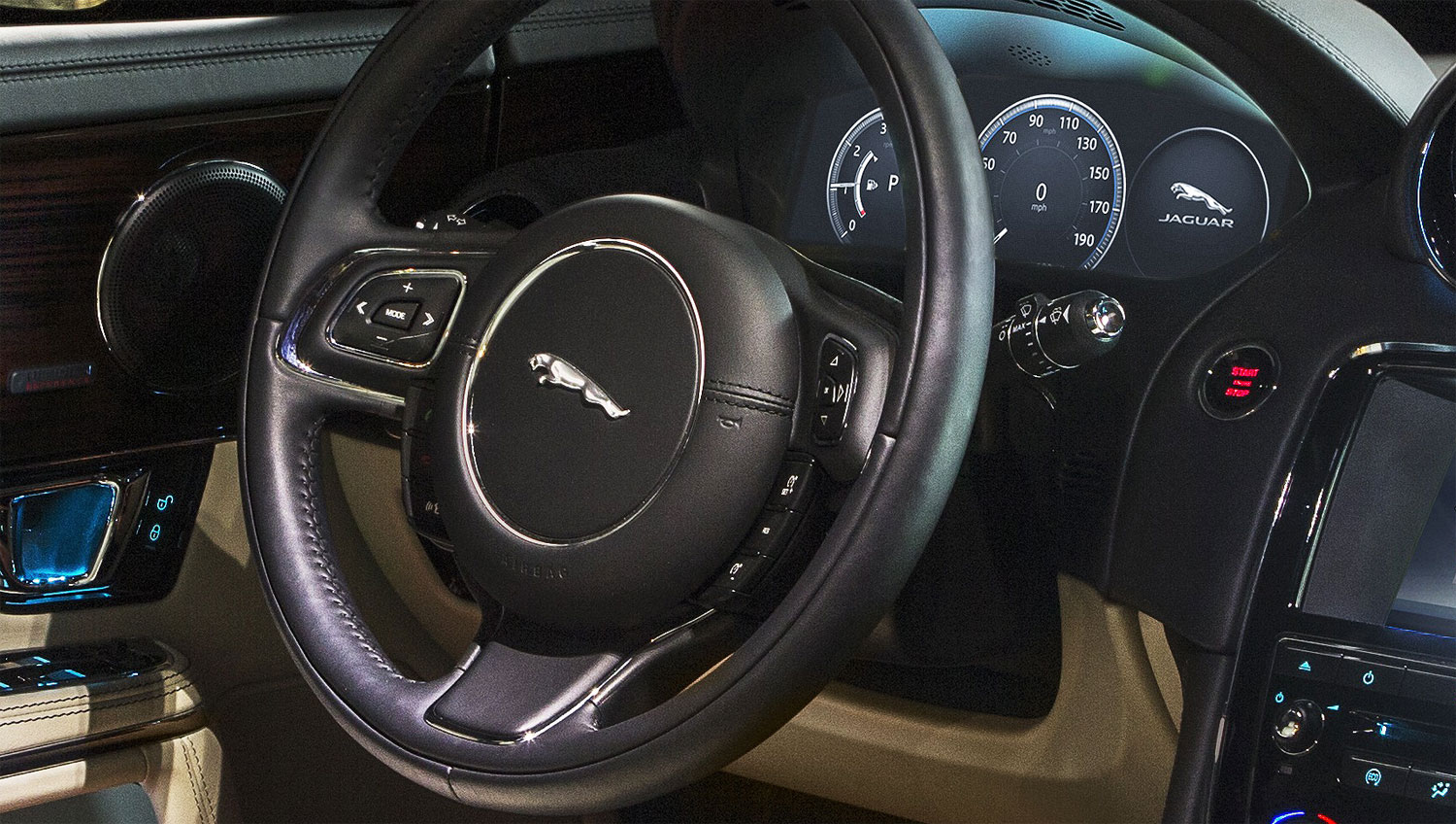 The new 2016 model year Jaguar XJ revealed