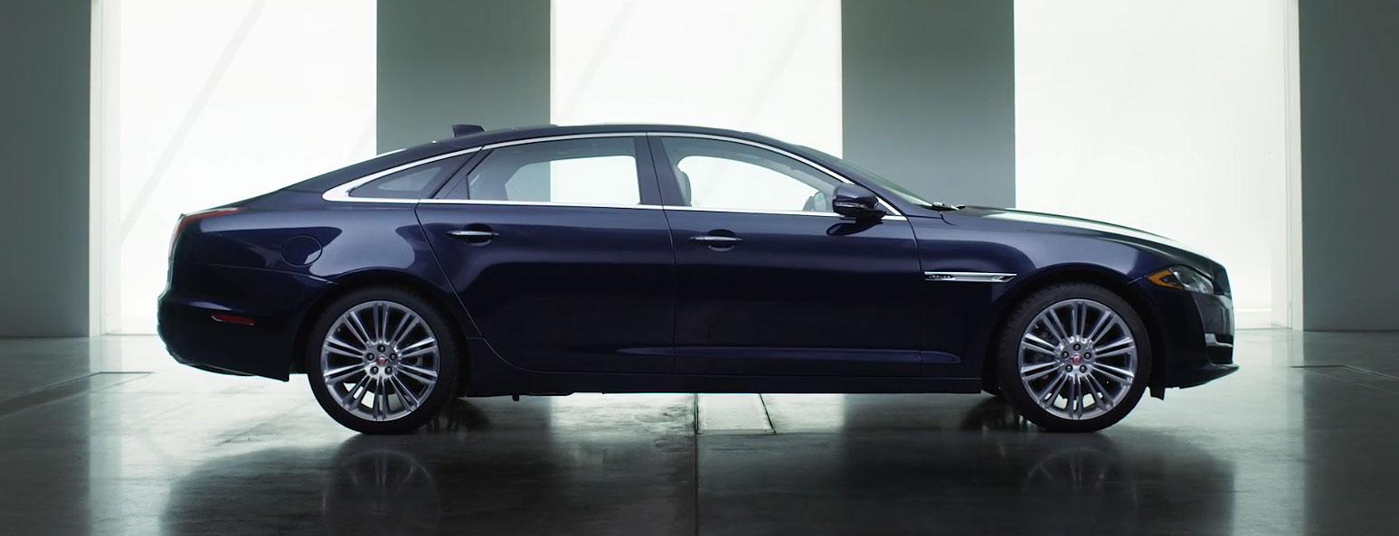 The new Jaguar XJ