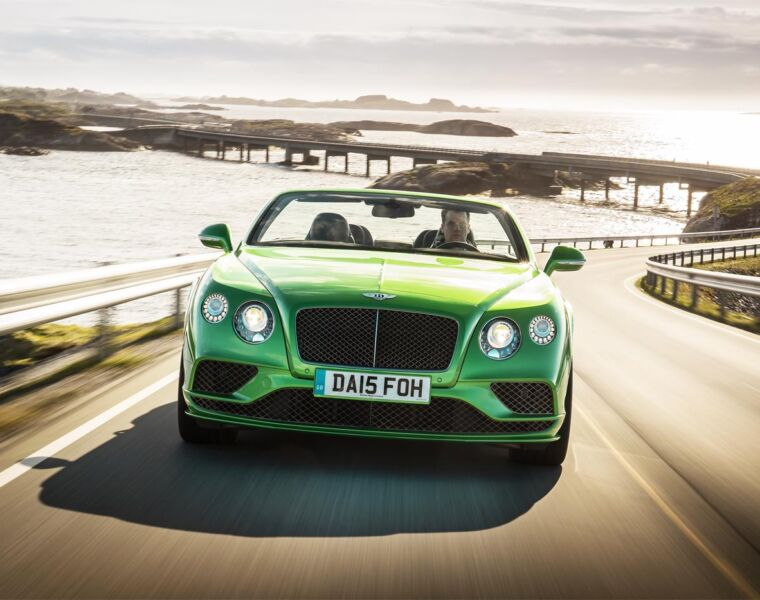 We Road-Test The All-New Bentley Continental GT Line-Up in Norway