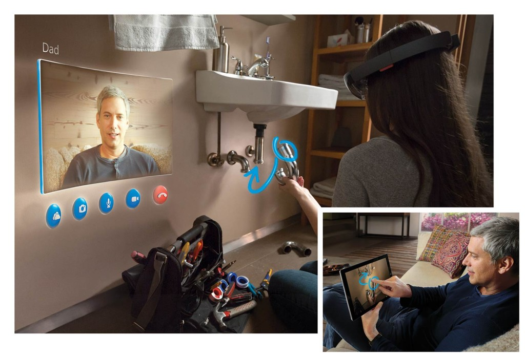 The Hololens could make life so much easier for everyday tasks