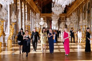 Ian Stevens Joins Martell's 300th Anniversary Celebrations At The Palace of Versailles