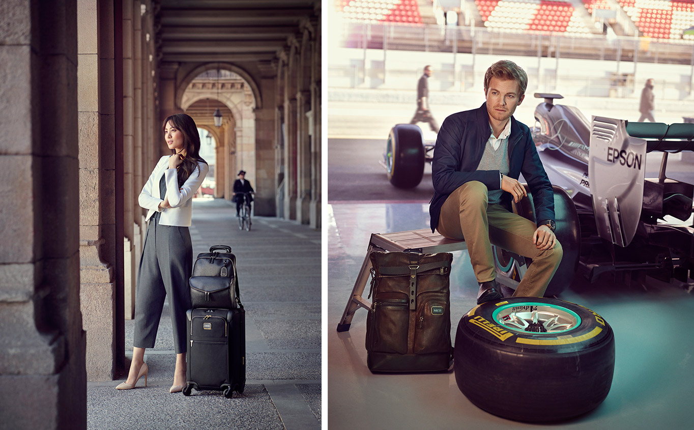 Nico Rosberg and Claudia (Soo Hyun) Kim become TUMI Global Citizens