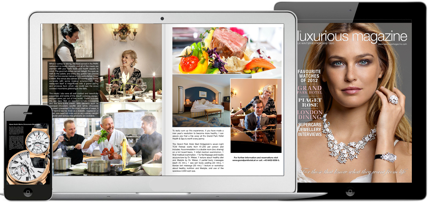 Luxurious Magazine® readership/viewer statistics 1