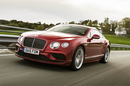 Luxurious Magazine Road-Tests The All-New Bentley Continental GT Line-Up