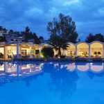 Turning The Sea Into A Mat At The Skiathos Princess Hotel In Greece 2