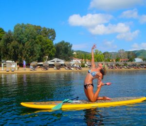 Stand Up Paddle board at the Skiathos Princess Hotel